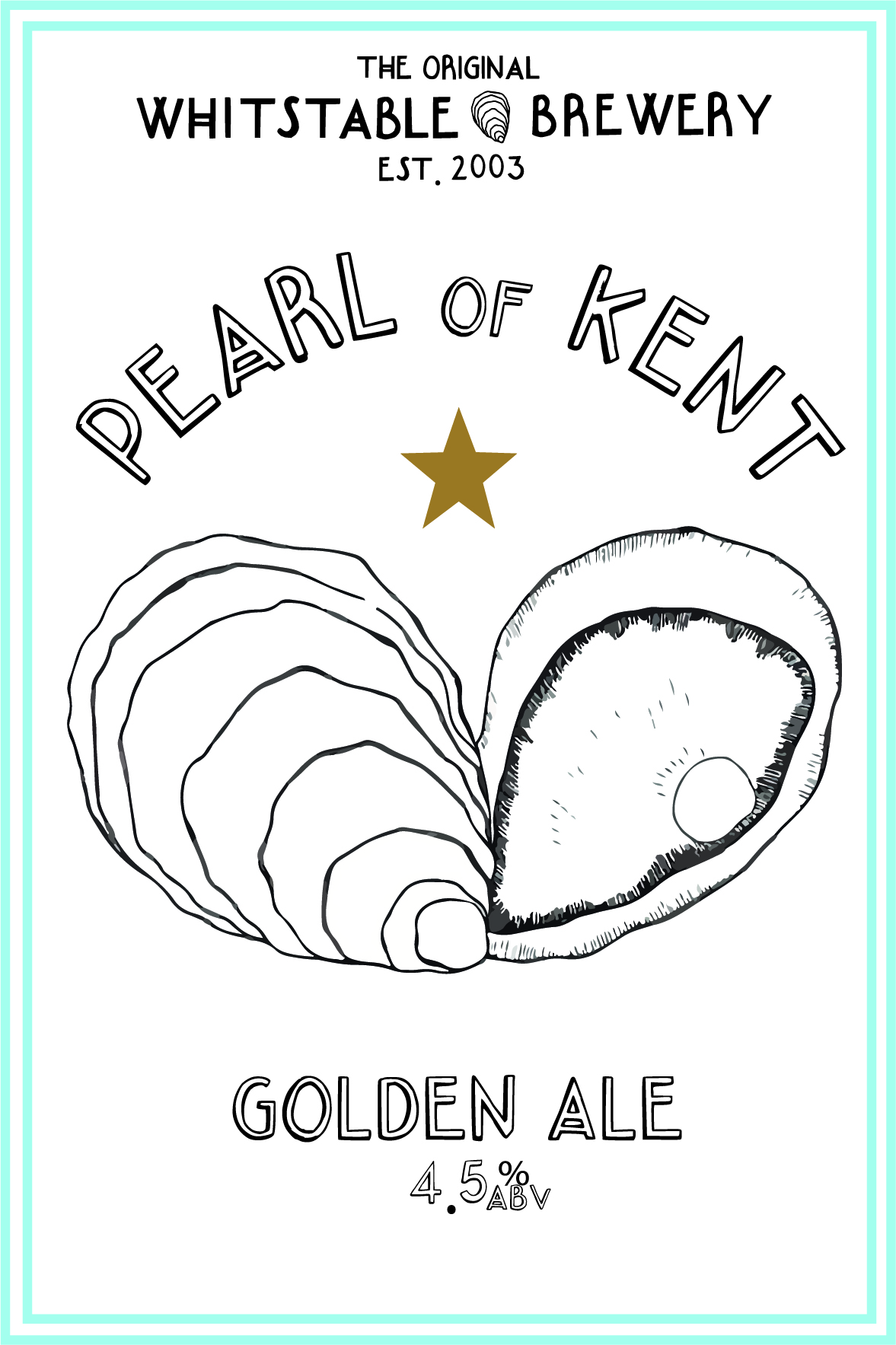 Pearl Of Kent Golden Ale